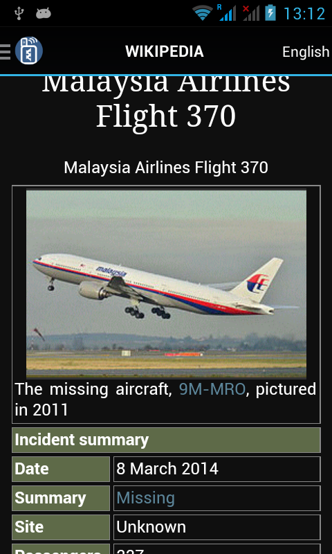 Full article for MH370