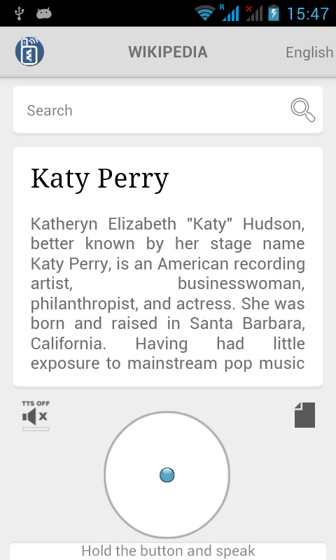 The Abstract for Katy Perry